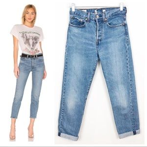 Levi's Wedgie Icon High Rise Jeans in These Dreams